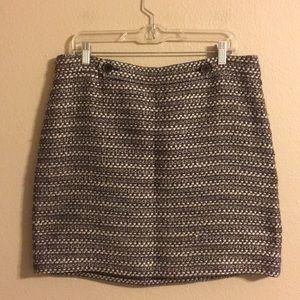 Loft tweed skirt size 12